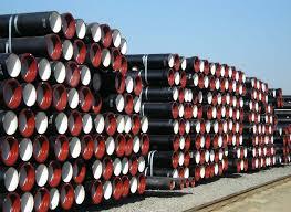 Ductile Cast Iron Pipe:NBR,SBR,EPDM Rubber,DN 80 - 1600mm